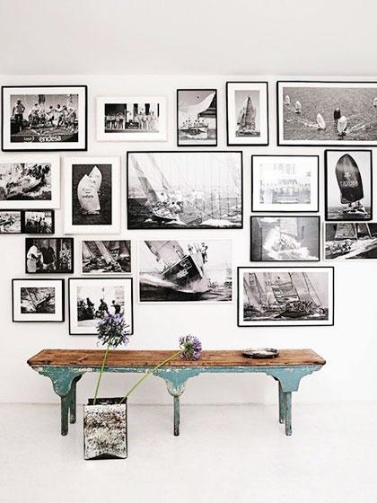 客厅照片墙设计构造图片
