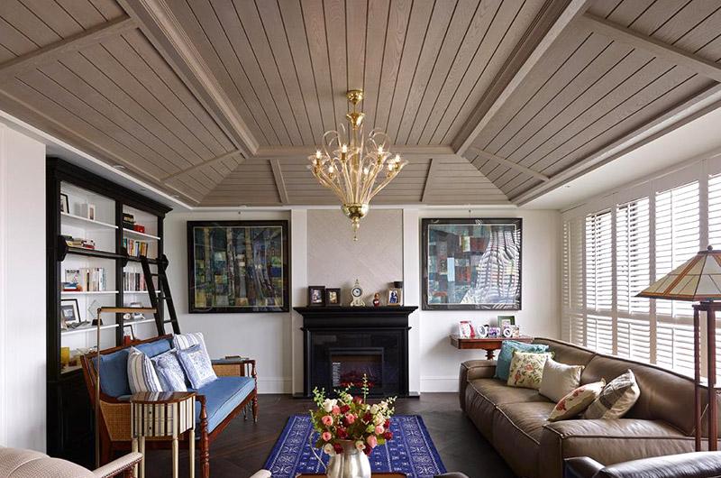 340平美式风格别墅装修图
