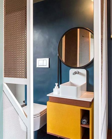90平公寓主卫生间装修图