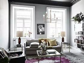 """北欧风格单身公寓装修图 """"冷淡风""""难得繁复"""
