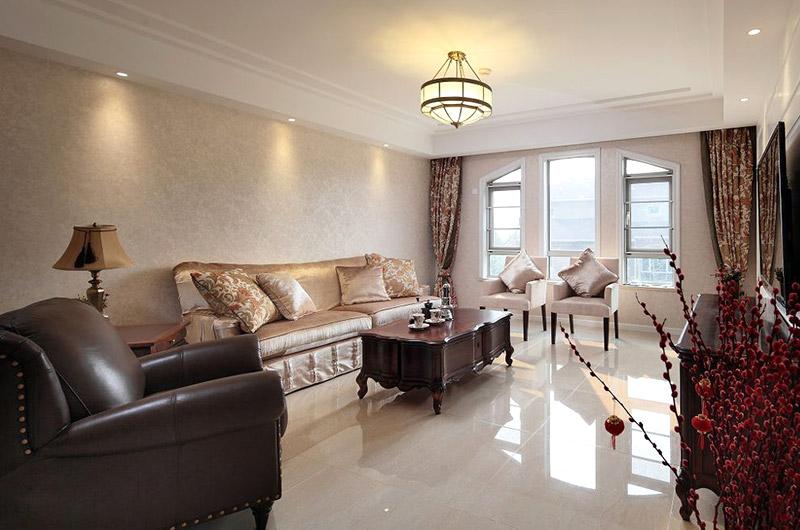 优雅古典欧式客厅装饰效果图