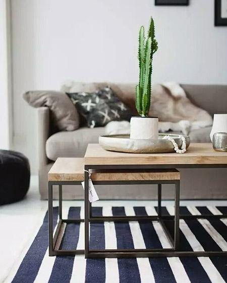 实用客厅茶几组合图片