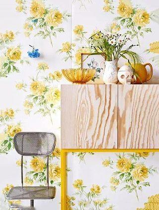 墙面壁纸装修装饰效果图