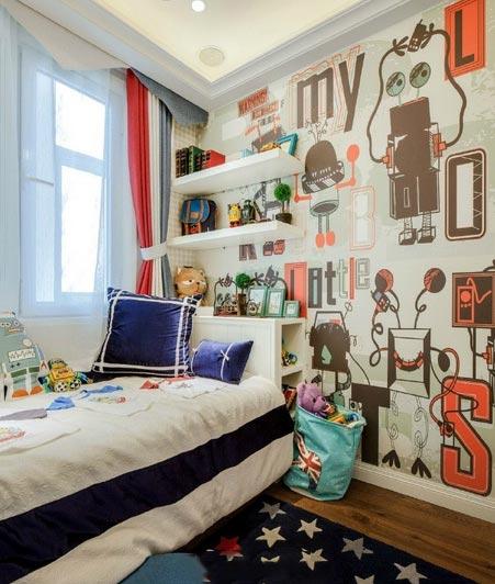 70㎡小户型卧室参考图