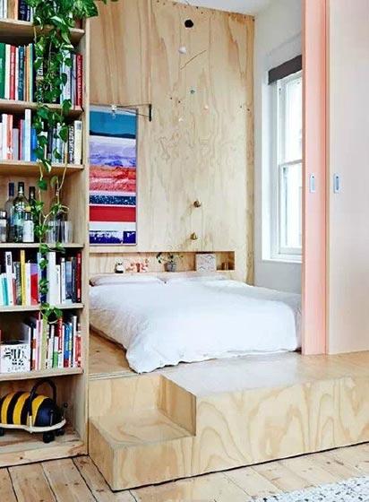 70㎡小户型卧室整体图片大全