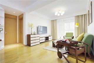 106㎡现代风格两居室装修装饰效果图