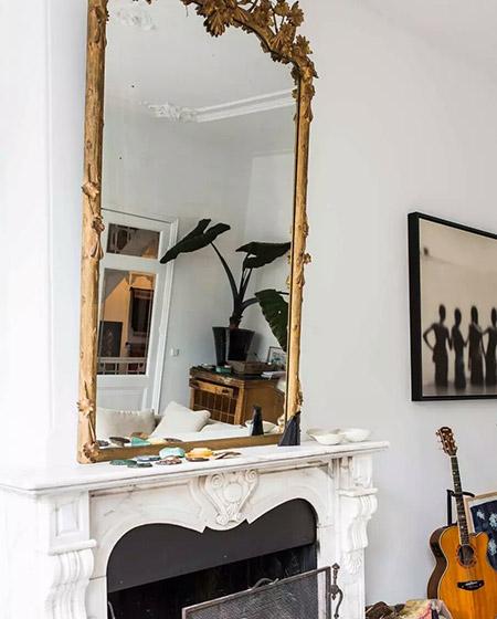250平北欧别墅镜子装修图
