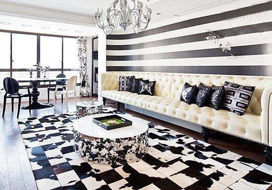 客厅地毯设计构造图片