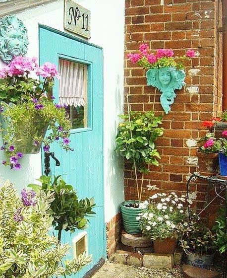 欧式小花园装修实景图
