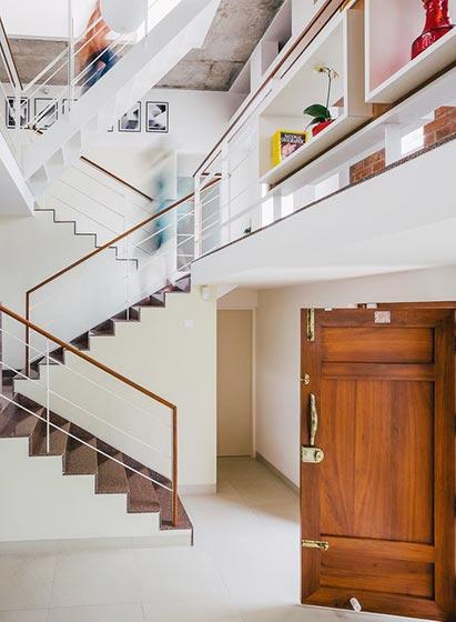 室内楼梯布置实景图