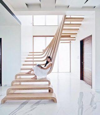 室内楼梯设计平面图