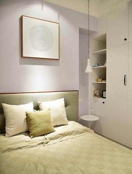 115㎡现代北欧两居室床头柜