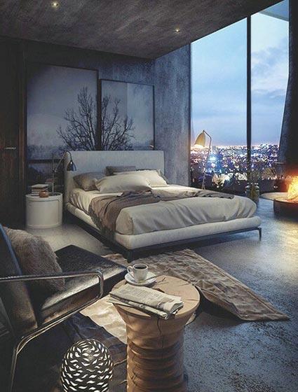卧室落地窗图片大全