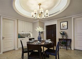 美式风格二居室装修餐厅效果图设计