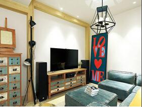 富有情调的空间设计  美式风格复式楼装修