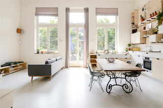 150平LOFT公寓餐厅装潢设计图