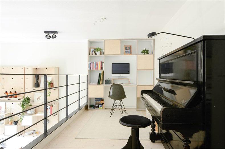 150平LOFT公寓书房效果图装修