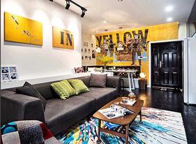 别有一番情调  混搭风格小户型公寓装修图