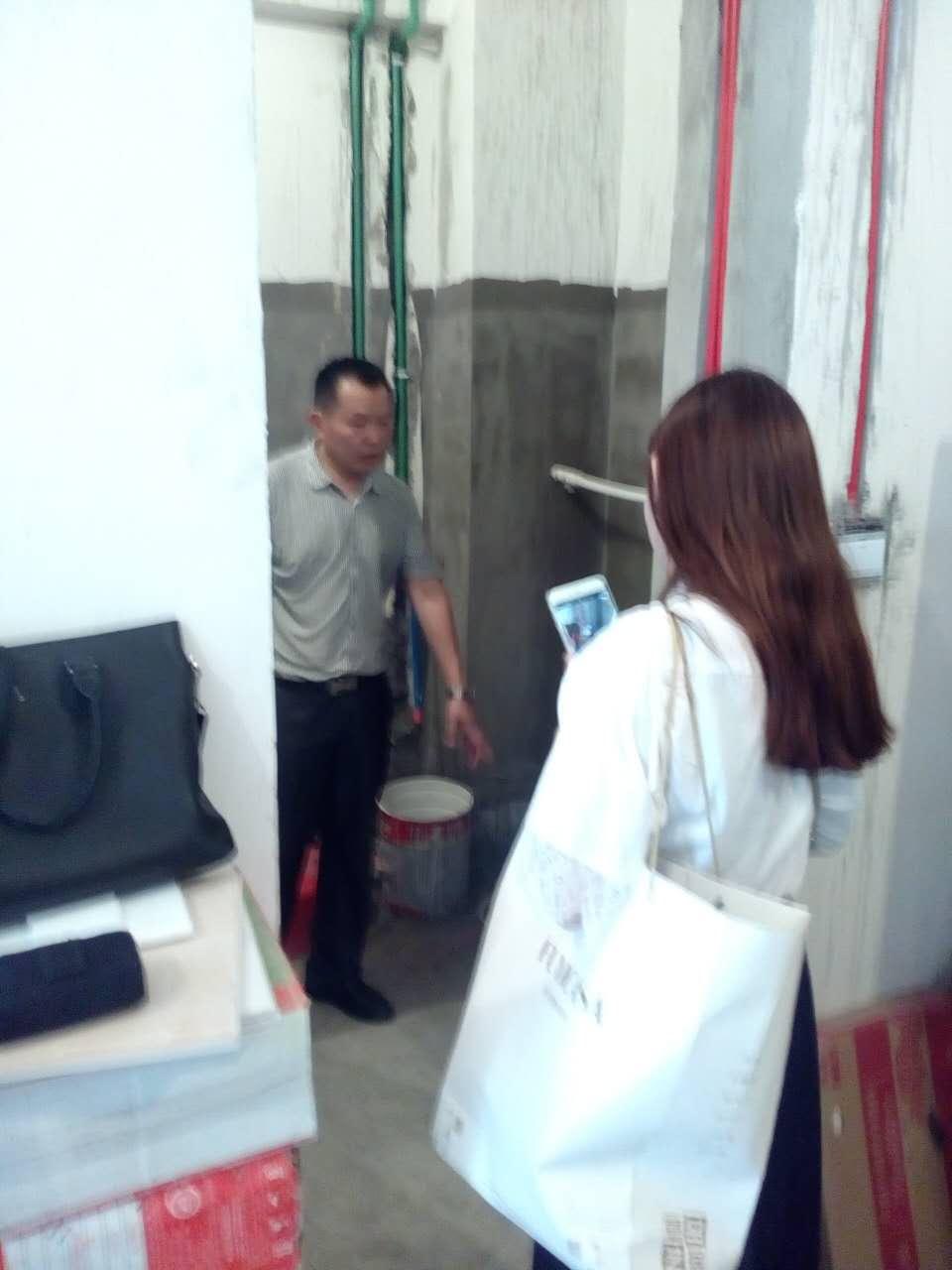 装修设计 上海装修 工地直播 许鹏家的工地直播  监理