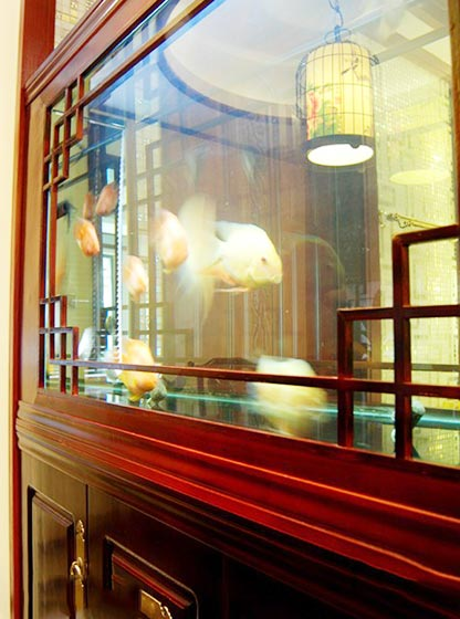 100㎡中式两居室布置图