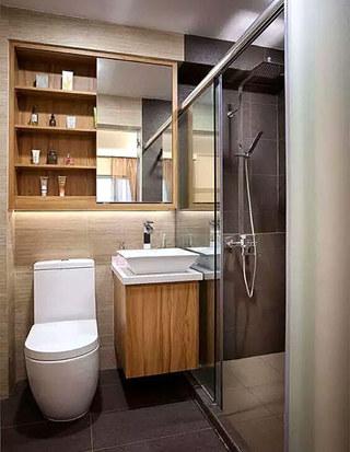 卫生间装修收纳设计