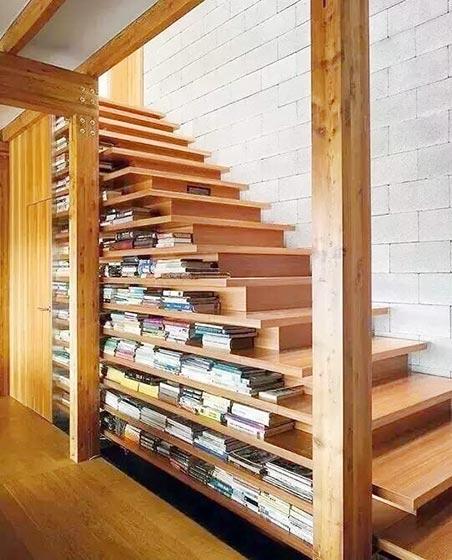楼梯空间收纳图片大全