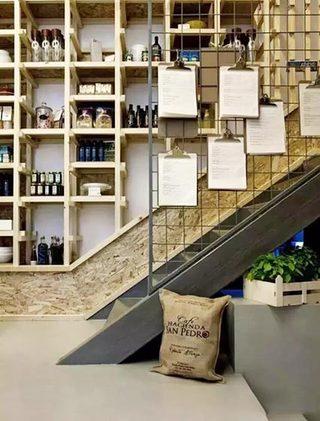 楼梯空间收纳布置构造图