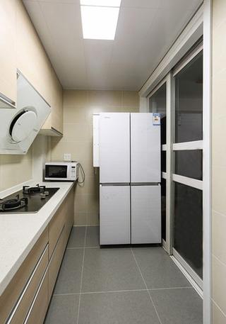 宜家风格小复式装修厨房设计图