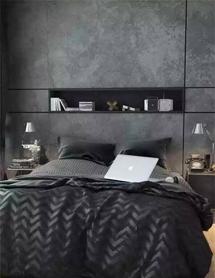 男生卧室装修装饰效果图