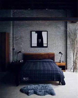 男生卧室设计实景图片