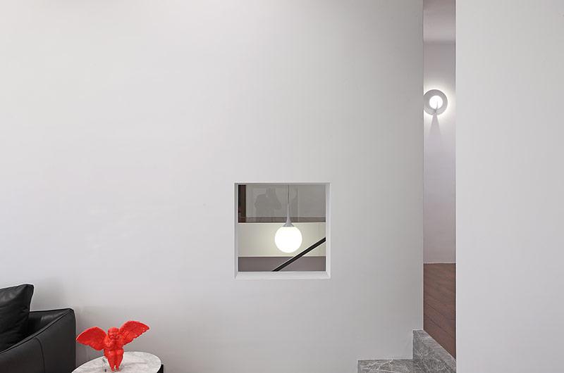 200平错层复式楼墙壁装修图