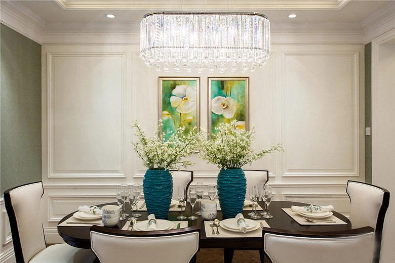 现代风格四房装修餐厅装饰效果图