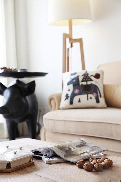 田园风格装修 让家让世外桃源一样美妙布艺沙发