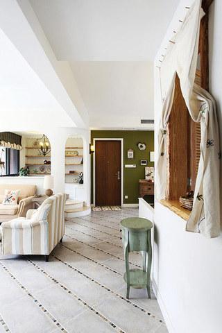 田园风格装修 让家让世外桃源一样美妙田园风客厅