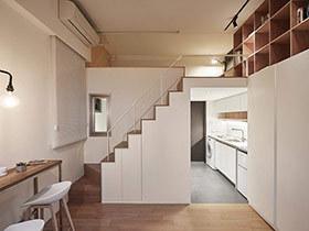 22平米超小公寓装修效果图 超赞蜗居生活