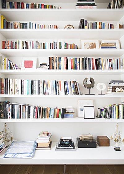家居书架装修装饰效果图