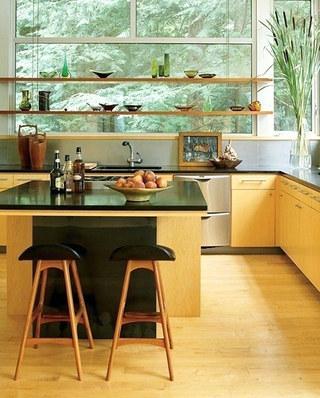 开放式厨房吧台设计图