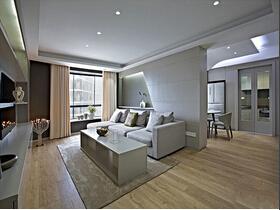 极简与时尚完美结合 简约风格三居室装修