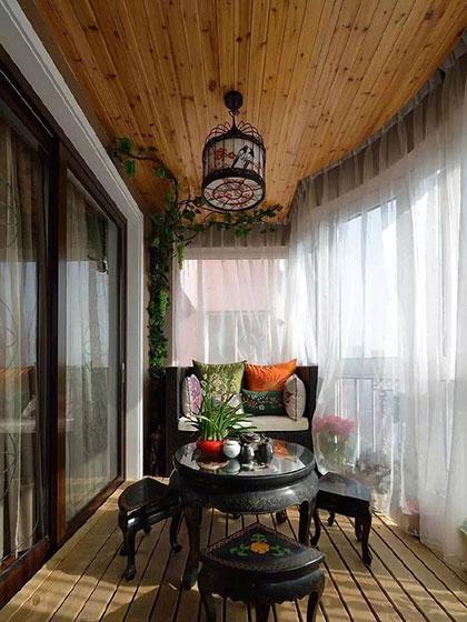 阳台吊顶设计实景图