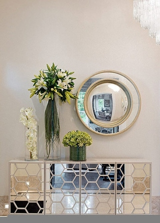 新古典风格别墅装修展示柜设计