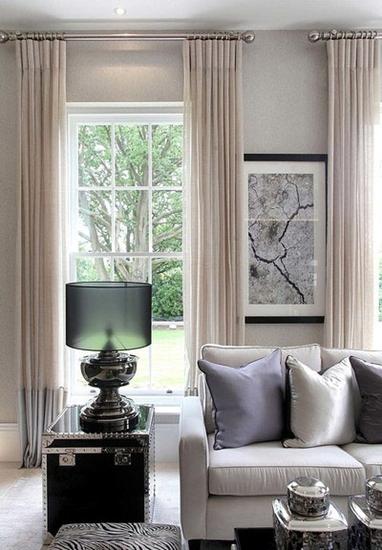 新古典风格别墅装修布艺沙发抱枕