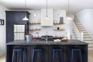 300㎡美式混搭别墅厨房效果图