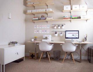 收纳小书房设计实景图