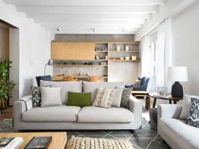 250平海外别墅装修图 自然气息的家居氛围