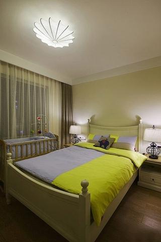 优雅现代美式卧室效果图
