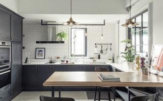 100平loft公寓厨房装潢设计