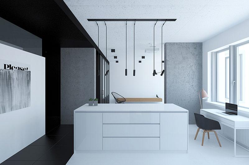 62平单身公寓厨房装修设计