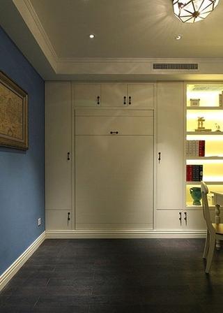 地中海风格三居装修收纳柜设计