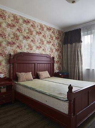 150平地中海风格装修卧室壁纸图片