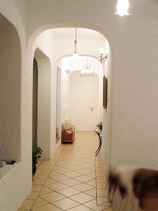 室内走廊装修装饰效果图